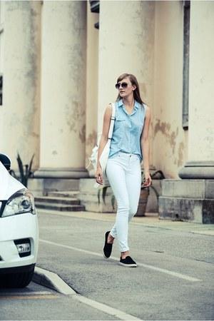Zara shirt - Front Row Shop bag