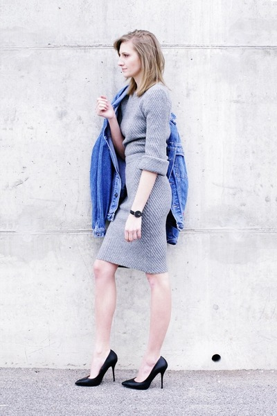 Chicwish sweater - PAPERDOLLS heels