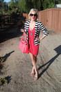 Hot-pink-tulip-victorias-secret-dress-stripes-carson-blazer