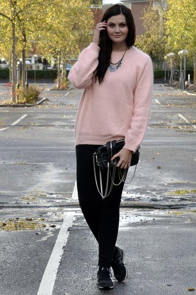 H&M jeans - Alexander Wang bag - H&M jumper - Bianco necklace