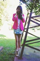 H&M skirt - romwe blazer