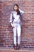 Sammy dress vest - My Hot Shoes boots - PacSun pants