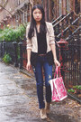 Zara-shoes-pacsun-jeans-h-m-blazer-banana-taipei-bag