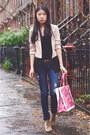 Zara-shoes-pacsun-jeans-h-m-blazer-banana-taipei-bag