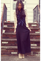 PacSun skirt - vintage blouse