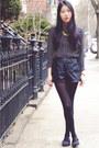 Black-pop-basic-blouse-yellow-pop-basic-necklace-black-my-hot-shoes-flats