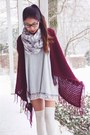 Madden-girl-boots-express-scarf-6ks-cardigan