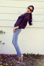 Sheinside jacket - PacSun shoes - H&M jeans