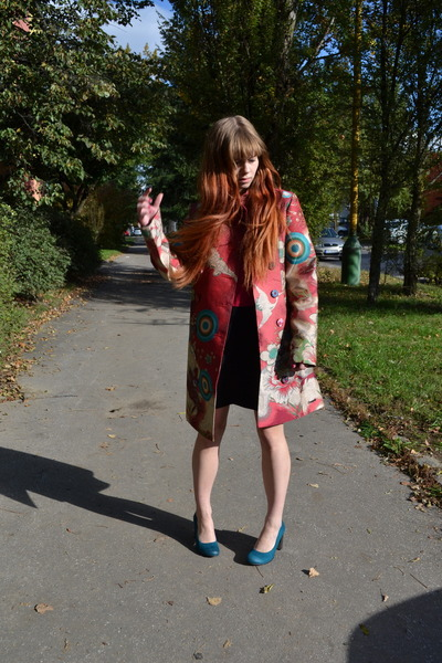 Black Bubble Coat Bubble Gum Desigual Coat