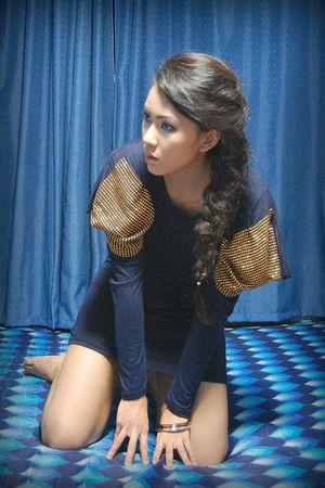 blue Pink Manila dress