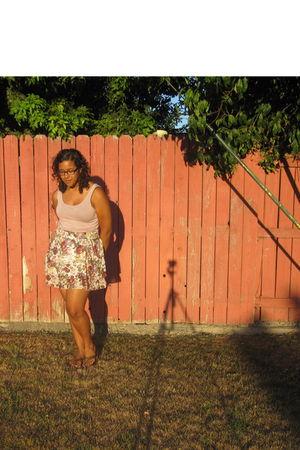 pink H&M shirt - Target skirt
