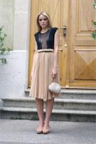 BCBG Maxazria bag - Mango skirt - Zara heels - American Apparel bodysuit