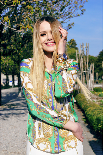 Zara shirt - Zara pants - Michael Kors watch