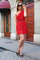 q2 dress - Fabi heels