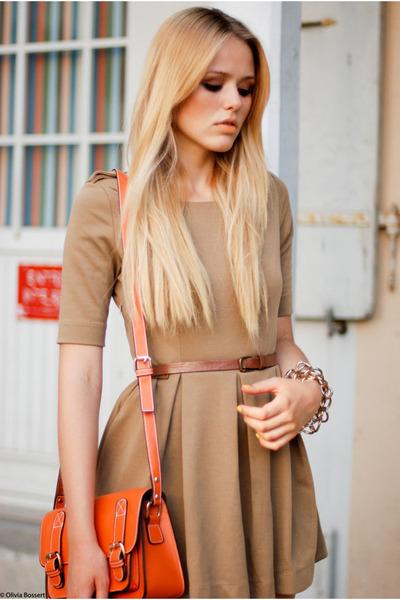 romwe dress - romwe bag - Fabi heels