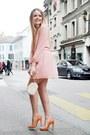 Peach-peach-dress