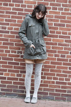 Sugarlips jacket - Forever 21 tights - vintage shorts