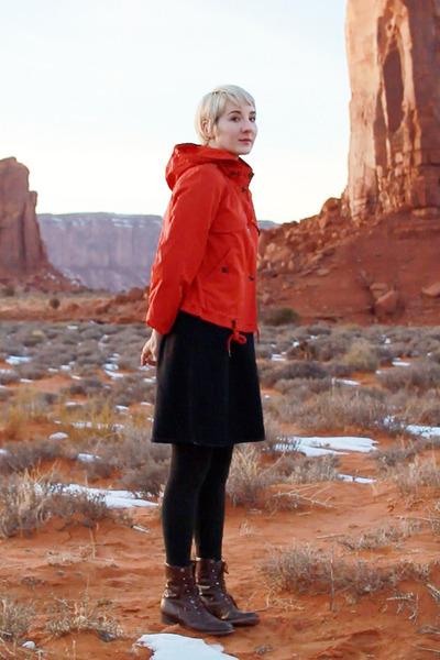 Anthropologie coat - Vintage Thrifted skirt