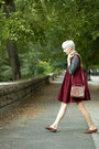 Thrifted-vintage-blouse-ebay-dress-thrifted-vintage-flats