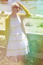 Cozy-boutique-dress-gap-sunglasses-last-chance-cardigan