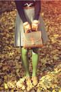 Vintage-boots-vintage-sweater-vintage-skirt-romwe-gloves