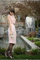 Forever 21 shoes - vintage dress - Urban Outfitters tights