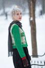 Black-persunmall-coat-asos-tights-vintage-top-people-tree-gloves