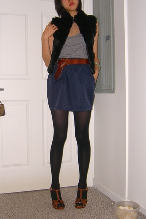 American Apparel top - American Apparel skirt - Hot Topic tights - from taiwan s