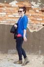 Vintage-seychelles-boots-80s-purple-sunglasses-american-apparel-t-shirt