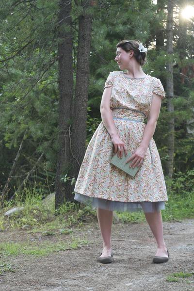 grey tulle Kellie Falconer Design skirt
