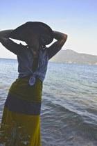 swim Kellie Falconer skirt - portrait Macys hat