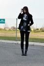Black-combat-dolce-vita-for-target-boots-skinny-bdg-jeans-black-1970s-vintag