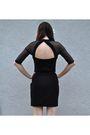 Black-vintage-dress-black-vintage-enzo-angiolini-boots-white-handmade-access