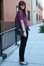 Navy-bucket-thrifted-purse-dark-brown-cat-eye-urban-outfitters-sunglasses-bl