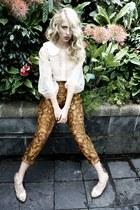 ivory Kelsey Genna shirt - Kelsey Genna pants