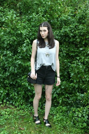 heather gray muscle tank Secondhand t-shirt