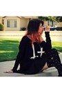 Black-cross-inlovewithfashion-sweater-crimson-lace-up-target-boots