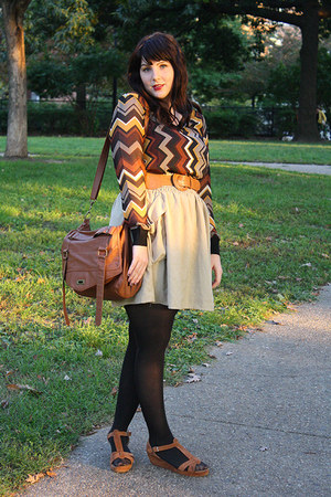 brown chiffon sweater missoni for target sweater - tawny t-strap shoes