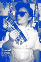 Miss Selfridge shirt - kerolajn purse - Spitfire glasses