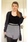 Vintage-cardigan-topshop-vest-george-shorts-vintage-belt-miss-selfridge-