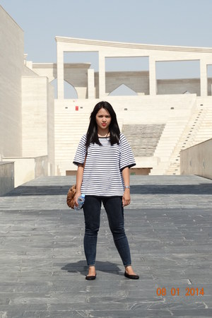 Zara blouse - Zara flats