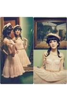 vintage hat - American Apparel skirt