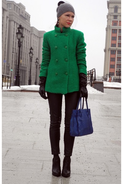 green Motivi coat