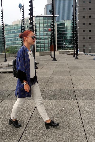 Topshop jacket - Zara pants