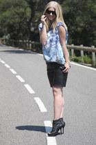 Zara heels - H&M pants