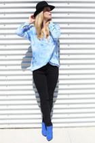 Monki blouse - River Island heels