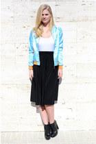 Alexander Wang boots - American Apparel skirt