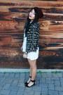Ivory-peanut-butter-jerri-dress-crimson-forever-21-hat-black-zara-heels