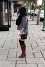Tawny-knee-high-boots-beige-lace-lace-dress-dress