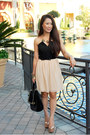 Peach-courtesy-of-charlotte-russe-dress-black-courtesy-of-melie-bianco-bag